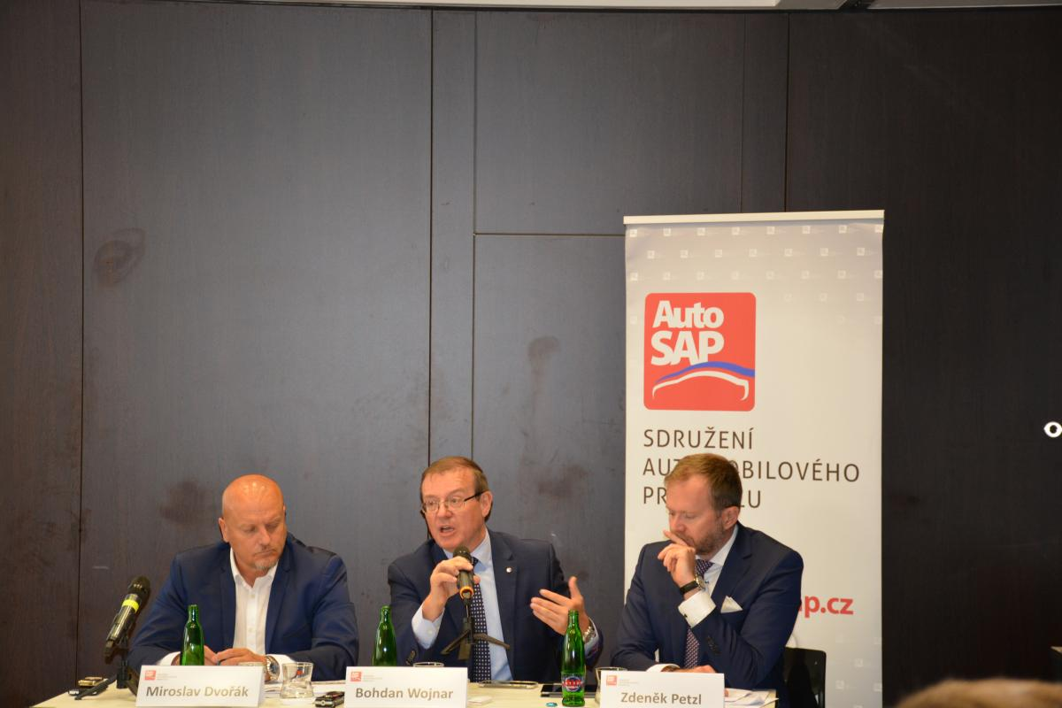 Výroční tisková konference AutoSAP
