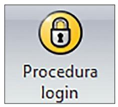 Ikona spuštění funkce Login