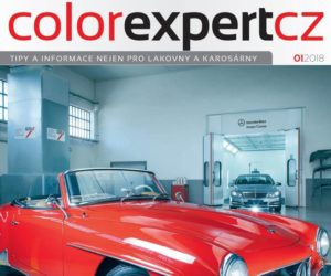Interaction vydal magazín Color Expert 1/2018