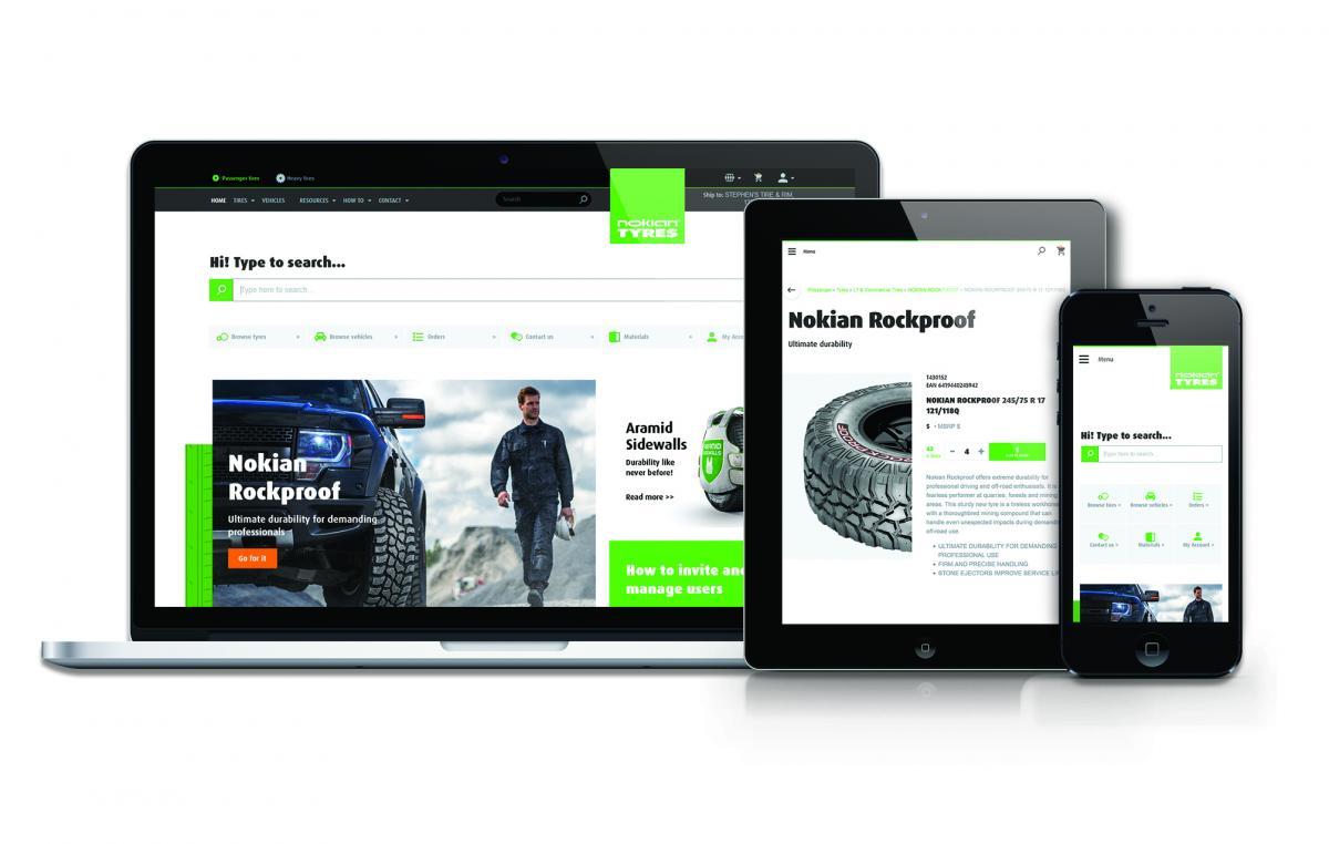 Nokian Tyres vylepšil službu Dealer Services