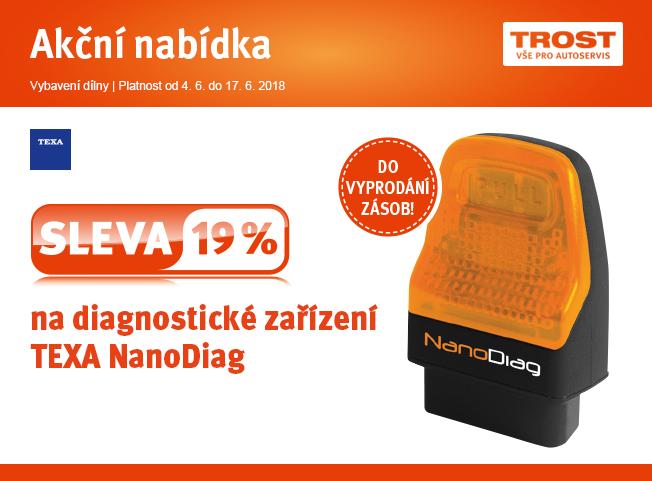 TEXA NanoDiag za 34.900 Kč u TROSTu