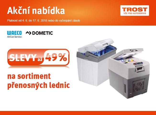 Slevy až 49 % na sortiment přenosných lednic u TROSTu