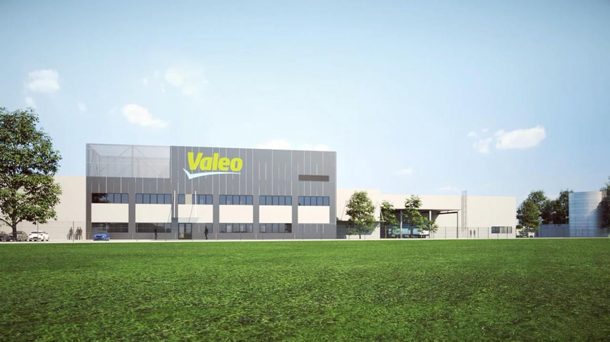 Nový výrobní závod Valeo v Rakovníku