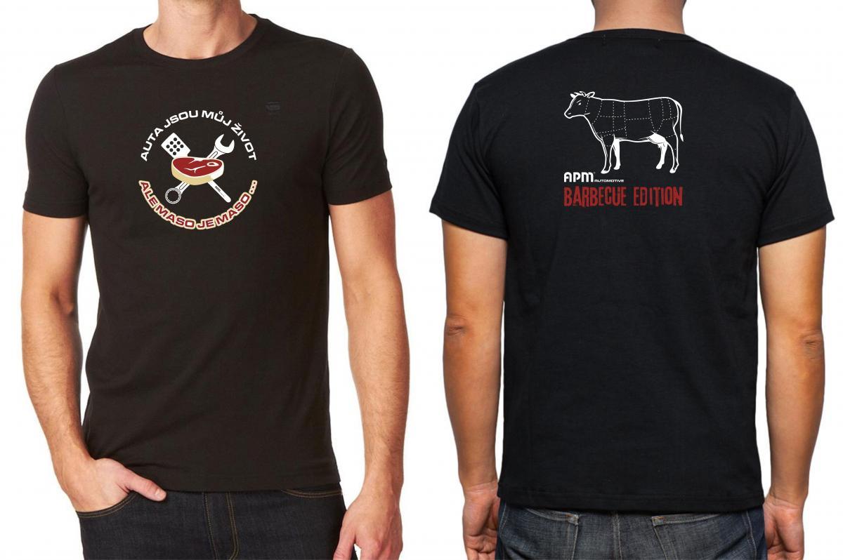 Tričko z limitované série APM BBQ edition