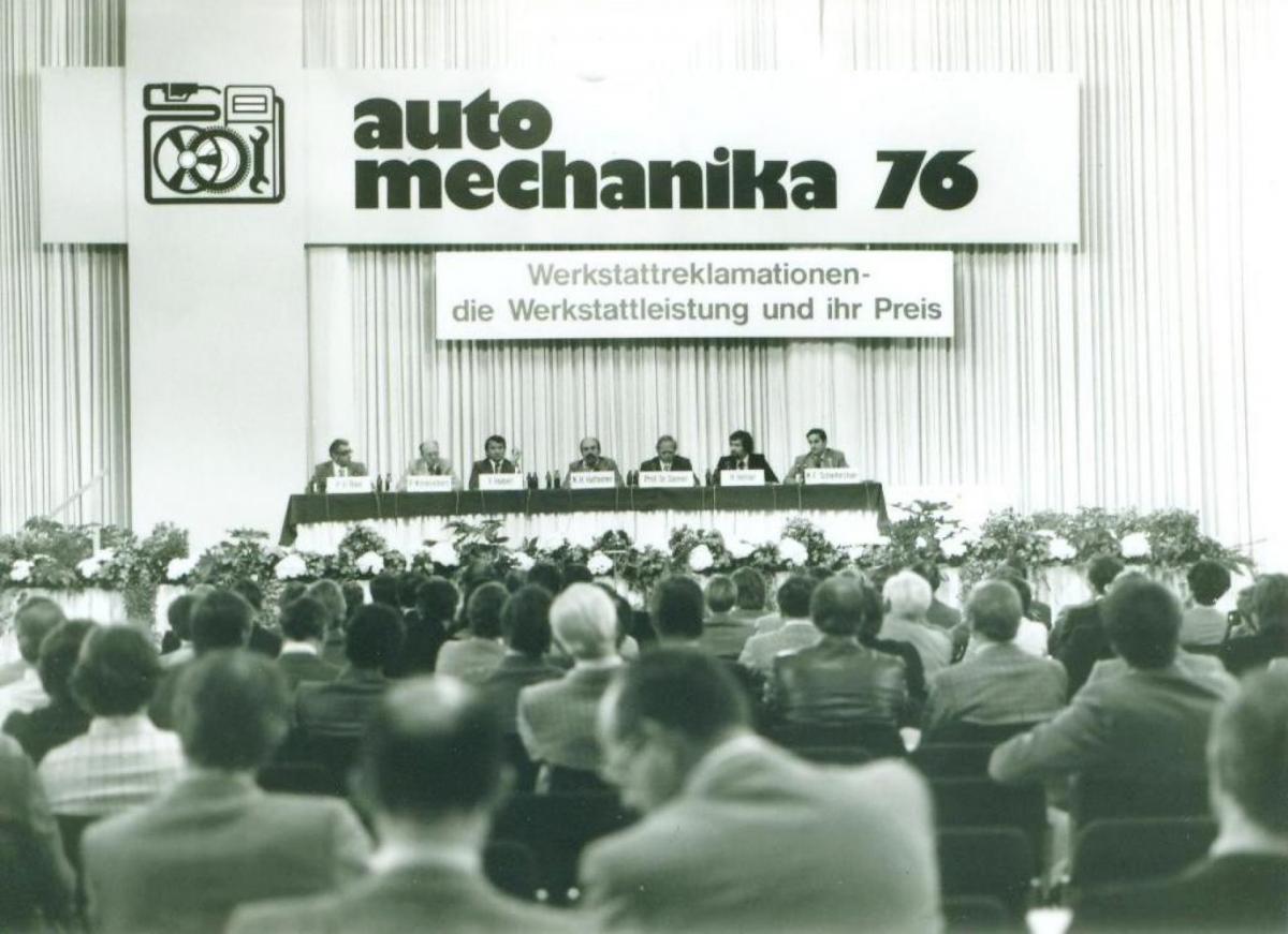 Veletrh Automechanika oslavuje již své 25. výročí