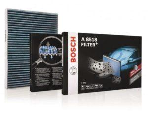 Nové kabinové filtry Bosch Filter+