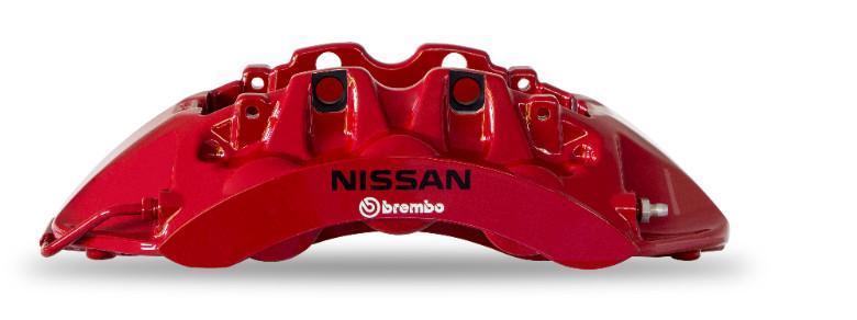 Speciální třmen Brembo pro Nissan GT-R50