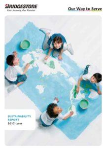 Zpráva o trvalé udržitelnosti 2017-2018 koncernu Bridgestone