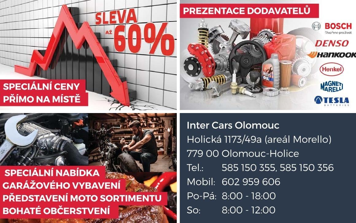Den otevřených dveří v Inter Cars Olomouc
