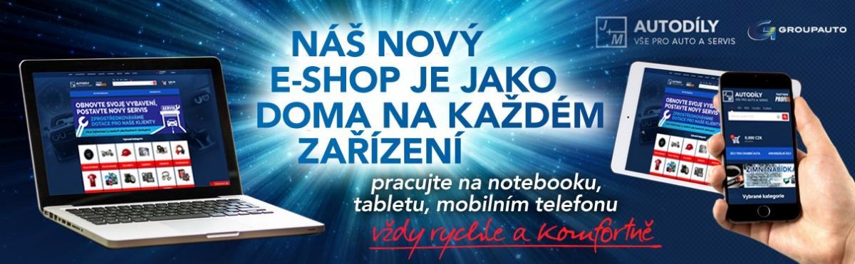 Responzibní verze e-shopu J+M autodíly – Nextis verze 9