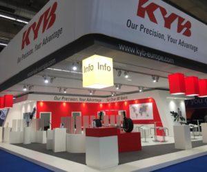 KYB bude vystavovat na Automechanice ve Frankfurtu