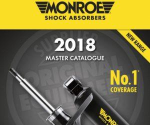 Tenneco vydává nový katalog tlumičů Monroe®
