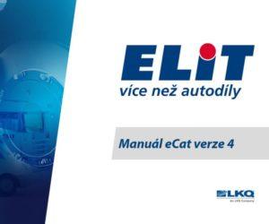 ELIT oznamuje konec katalogu eCat 3