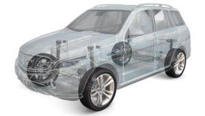 Tenneco technologie CVSA2/Kinetic® H2 a X2 pro elektrické vozy