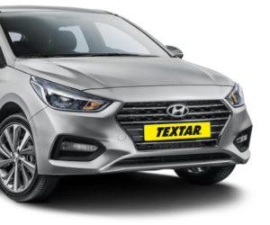 Textar umí brzdové destičky na nový vůz  Hyundai Accent