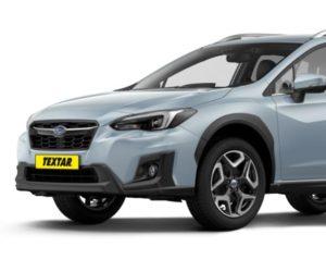 Textar vyrábí brzdové destičky pro nové Subaru