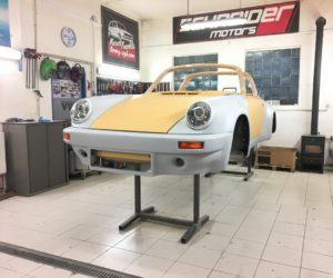 Na Excape6 Prague car Festivalu 2018 se představí renovované Porsche 911 targa