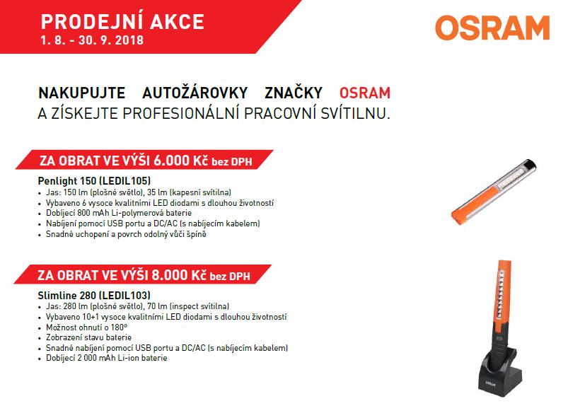 Autožárovky OSRAM + dárek zdarma u Stahlgruberu