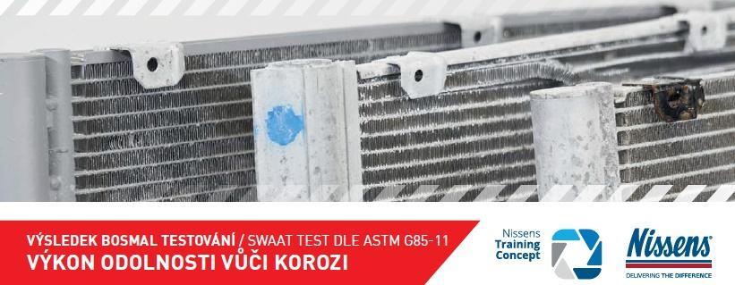 Stahlgruber testuje odolnost kondenzátorů Nissens