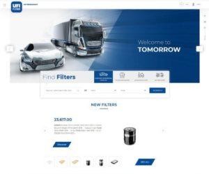 Společnost UFI Filters spouští nové webové stránky