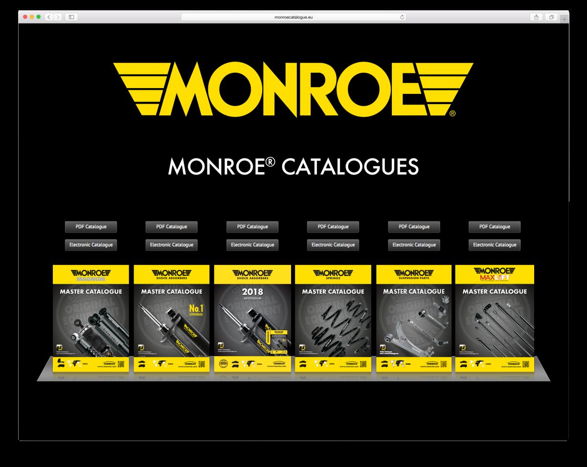 www stránky monroe catalogues