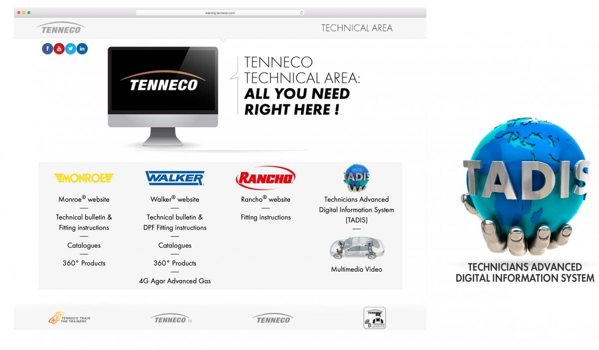 Technická podpora Monroe Techline a TADIS