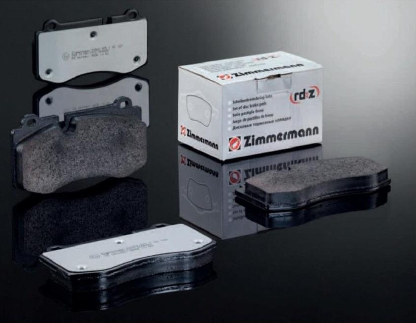 Nové, vylepšené brzdové destičky Zimmermann rd:z