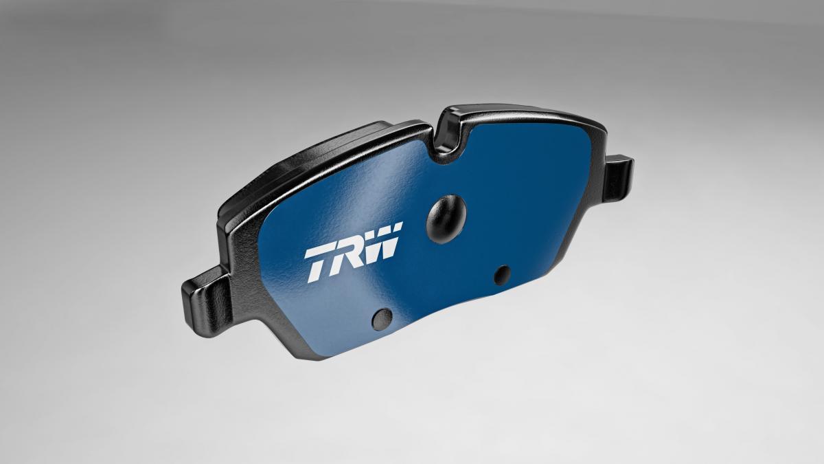 Brzdová destička TRW Electric Blue pro elektrická vozidla