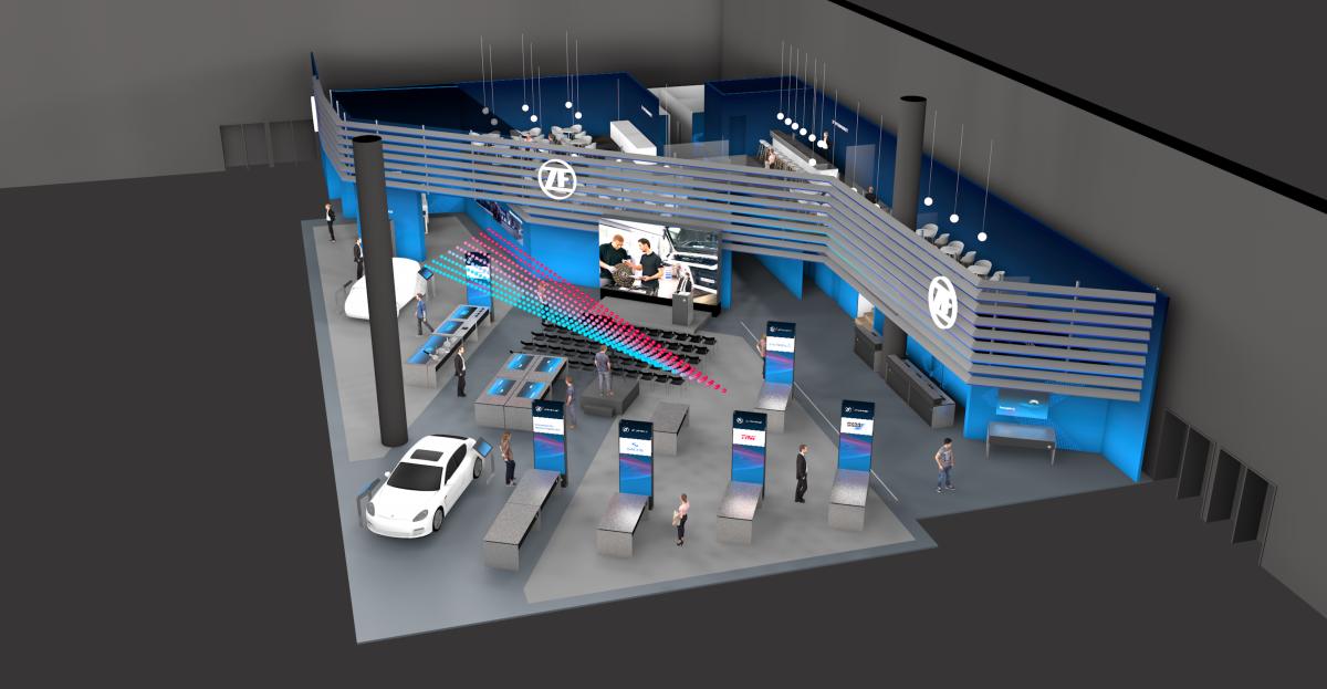 Stánek ZF Aftermarket na Automechanice 2018