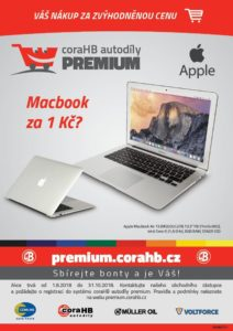 MacBook za 1 Kč?