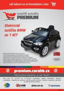 Elektrické autíčko BMW za 1 Kč?