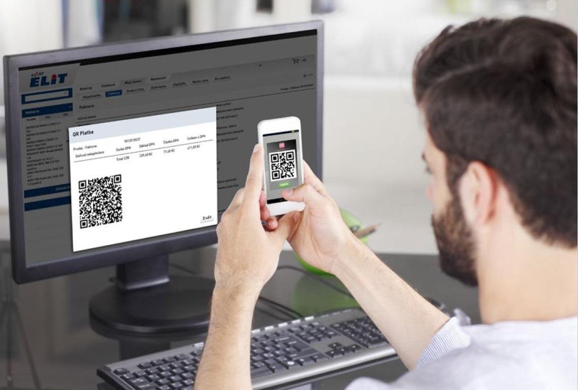 V eCatu máte nyní nově možnost za své nákupy platit pomocí QR platby