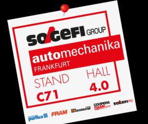 Sogefi předvede svoje novinky na veletrhu Automechanika 2018