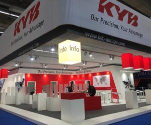 KYB na veletrhu Automechanika 2018