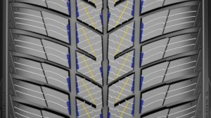 Zimní pneumatiku Polaris 5 detail 1