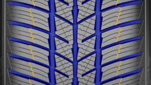 Zimní pneumatiku Polaris 5 detail 2