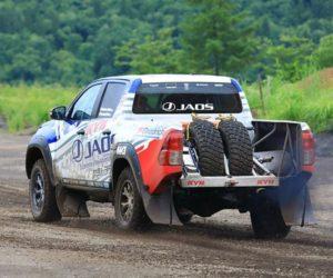 KYB a tým JAOS se představili v Rally Cross Country Asia
