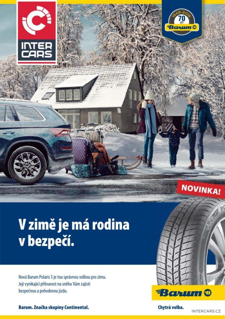 Vynikající přilnavost na sněhu vám zajistí bezpečnou a pohodovou jízdu