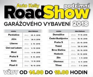 Podzimní RoadShow Auto Kelly 2018