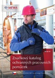 Nový, značkový katalog ochranných pracovních pomůcek MEWA 2018/2019