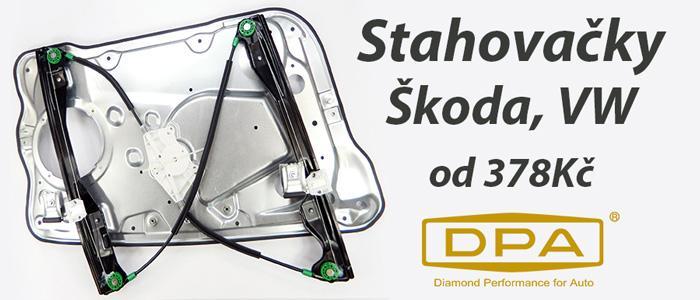 Stahovačky  DPA pro vozy Škoda a VW