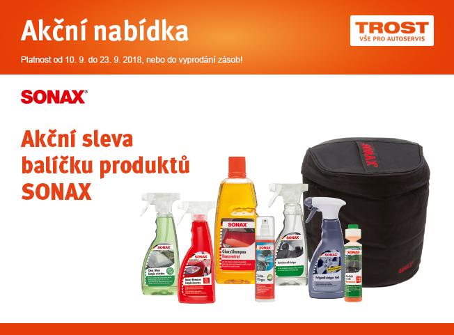 Akce na produkty SONAX u TROSTu