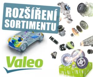 Kompletní sortiment Valeo v nabídce AD PARTNER