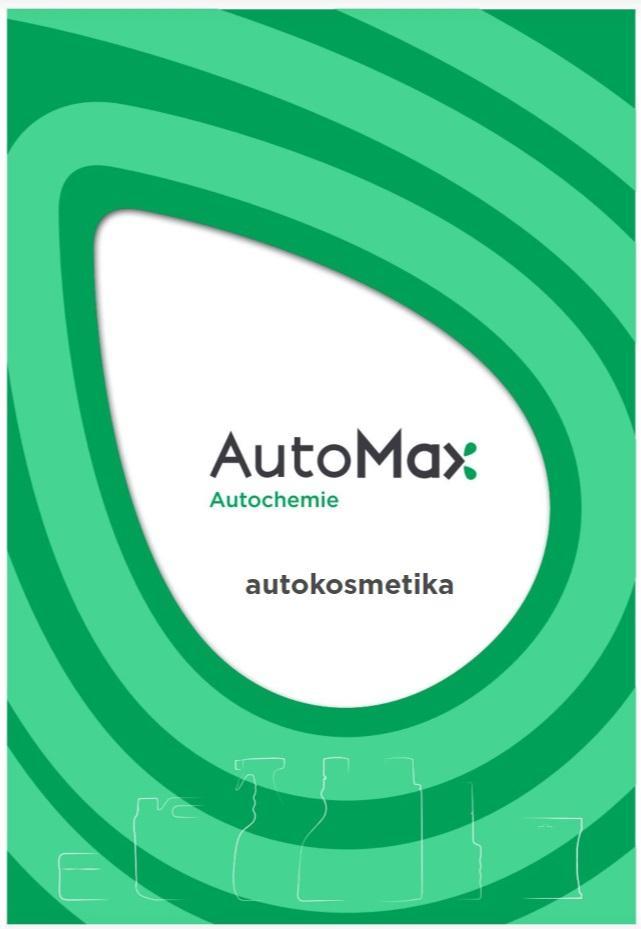 AutoMax Group: Nový katalog autokosmetiky