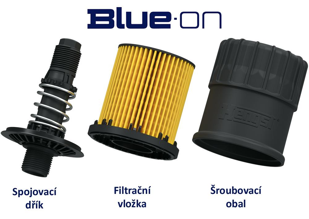Blue.on - budoucnost filtrace oleje s patentem Hengst Filter