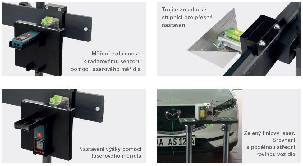 Bosch představuje ADAS řešení kalibrací asistenčních systémů SCT 815