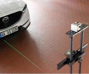 ADAS řešení kalibrací asistenčních systémů Bosch SCT 815
