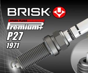 Nová zapalovací svíčka BRISK P27