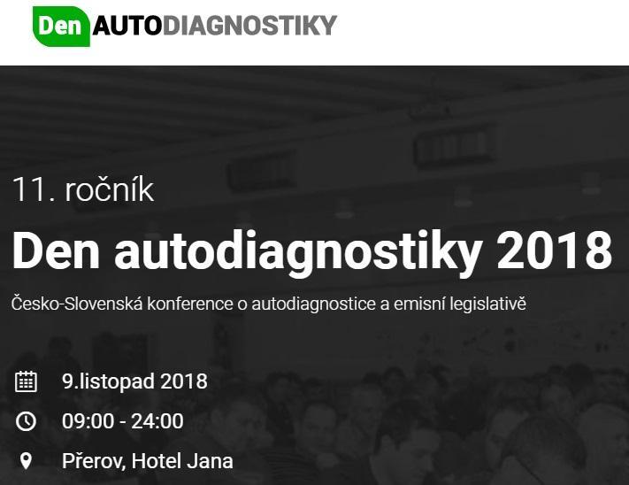 Den autodiagnostiky 2018