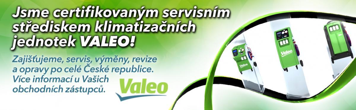 J+M autodíly servisním střediskem Valeo